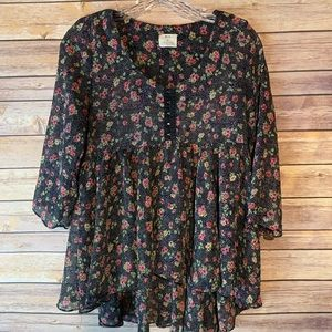 Pins & Needles blouse